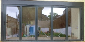 External bi-fold doors - Tulse Hill SW2
